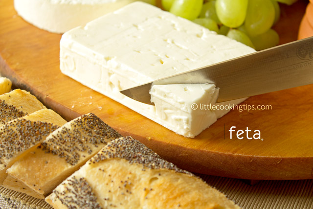 Little Cooking Tips 5 popular white Greek cheeses you should try - Feta Cheese
