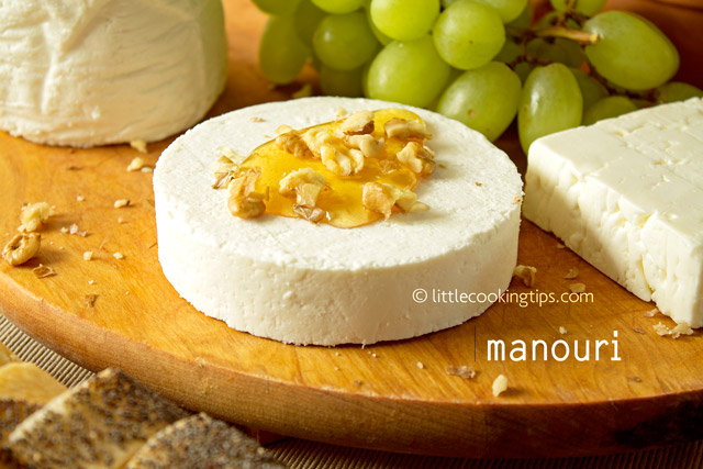 Little Cooking Tips 5 popular white Greek cheeses you should try - Manouri Cheese