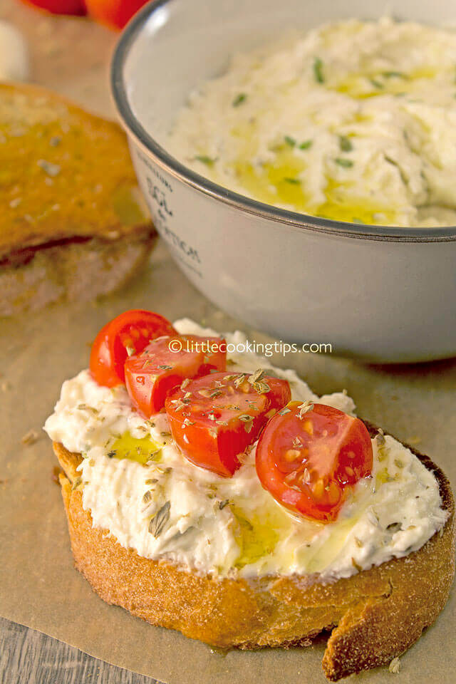 Little Cooking Tips Greek Whipped Feta