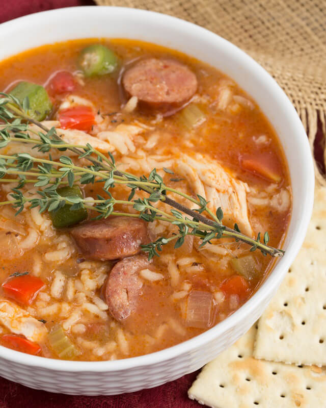Chicken Jambalaya Soup