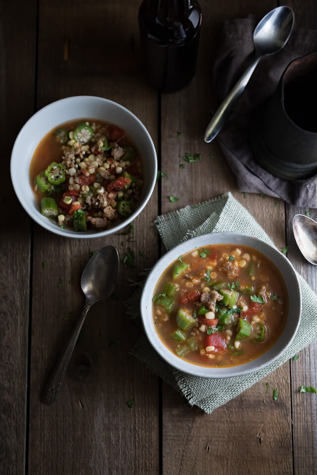 Hearty Vegetable and Sausage Soup