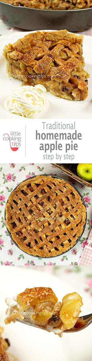 Step by Step Traditional Homemade Apple Pie