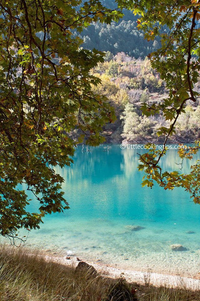 Little Cooking Tips - Lake Tsivlou Corinth Greece