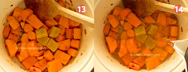 Little Cooking Tips - Hearty Roasted Butternut Squash Soup Step by Step