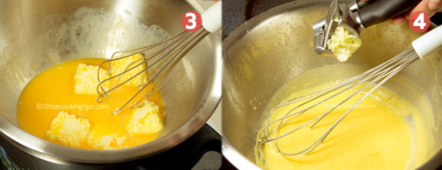 Little Cooking Tips Easy Creamy Hollandaise Sauce with Garlic
