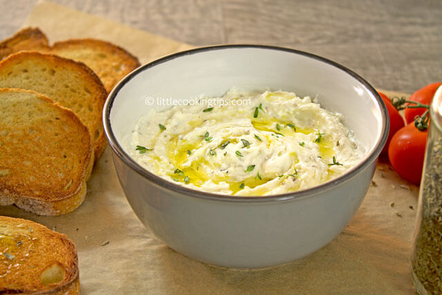 LittleCookingTips - Delicious Creamy Feta Cheese Spread 3