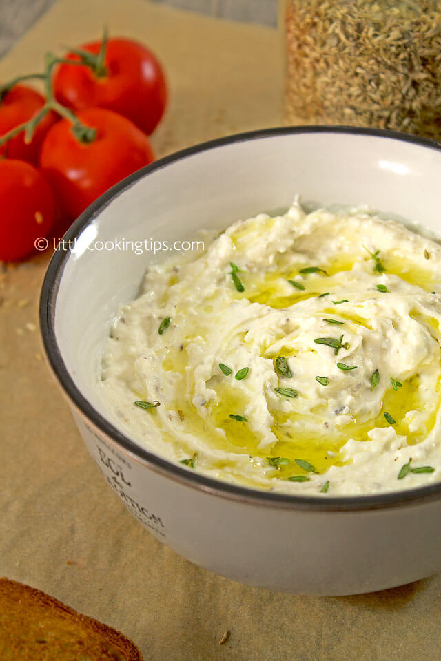 LittleCookingTips - Delicious Creamy Feta Cheese Spread 2