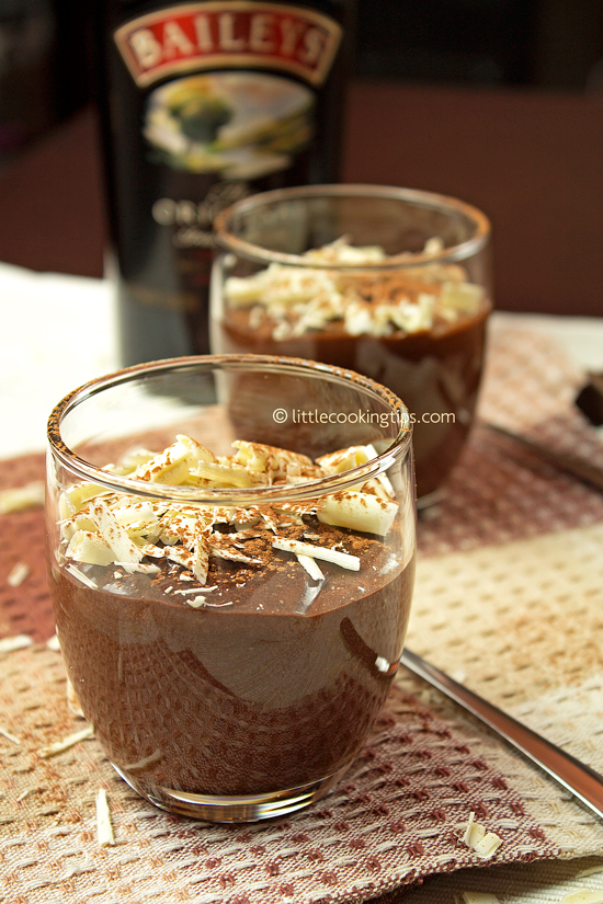 Chocolate Mousse with Baileys