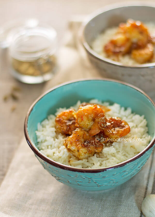 Little Cooking Tips - Cardamon Orange Glaze Shrimp 2