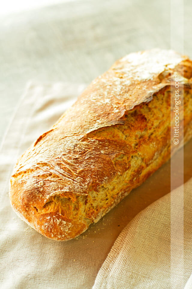 Little Cooking Tips Homemada oatmeal bread