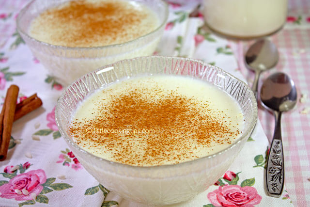 Little Cooking Tips Rizogalo: A creamy Greek Rice Pudding with Chios Mastic flavor