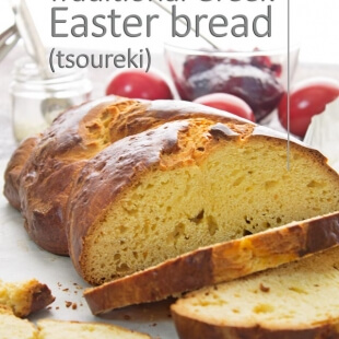 Traditional Greek Easter Bread (Tsoureki)