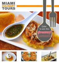 Miami Culinary Tours Tickets Giveaway!