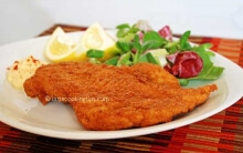 Crispy Fried Chicken (Chicken Schnitzel)