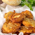 Greek Cheesy Potato Fritters