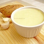 Traditional Greek Potato Garlic dip/spread (Skordalia)