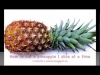 How to Cut a Pineapple One Slice at a Time (HD)